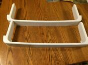 Ge Americana Refrigerator 2 Freezer Door Shelf Rails Wr17x11890 197d5963poo2