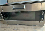 Gaggenau Eb388610 36 Wall Oven Stainless Steel Mint Condition Pizza Stone