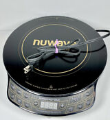 Nuwave Gold 30211 Precision Induction Cooktop 1500 Watts Portable Burner