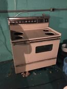 Vintage General Electric Ge Range Stove Broiler Oven