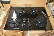 New Open Box Ge Black 30 Gas Electric Ignition Cooktop Kgct305x Bl1