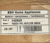 Thermadore Bosch Double Wall Oven Touch Panel With Filter Oem Brand New