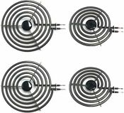 Mp21ya Electric Range Burner Element Unit Set Mp15ya 6 2 Mp21ya 8 2 2 Sets