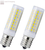 Microwave Oven Appliance 8w E17 Led Bulb Equal 70w Halogen Bulb White 6000k