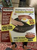 Nuwave Portable Induction Cooktop Brand New In Box W Free Pan