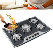 Cook Top 30 Stainless Steel Built In 5 Burners Stove Lpg Ng Gas Cooker Hob