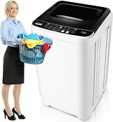 Fully Semi Automatic Compact Portable Washing Machine W Drain Pump Spiner Dryer