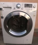 Lg Wm3477hw 24 All In One Combo Ventless 120v Electric Washer Dryer Combo