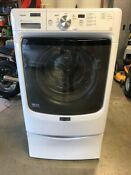 Maytag Washing Machine Front Load Incl 18 Storage Base