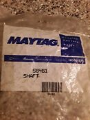 New Genuine Oem Amana Dryer And Washer Idler Pully Shaft 56461 Same Day Shipping