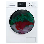 Danby 2 7 Cu Ft All In One Ventless Washer Dryer Combo White For Parts