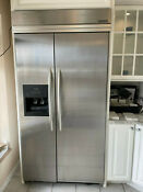 Kitchenaid 42 Built In Refrigerator With Ice And Water Dispenser In Stainless