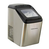Morphy Richards 1 8kg Ice Maker Machine 2 8l Countertop Bar Stainless Steel