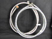 2 Eastman 6 Ft Ez Flow Stainless Steel Washing Machine Hoses Hot