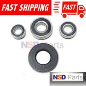 New Whirlpool Duet W10253864 Ap4426951 8181666 Front Load Washer Bearing Kit 118