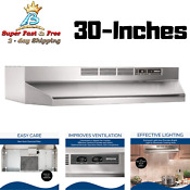 Under Cabinet Ventless Range Hood Non Ducted Under The Cabinet Range Hood 30inch