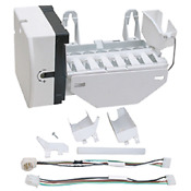 Wr30x10093 New Replacement For Ge Hotpoint Refrigerator Icemaker Assy