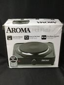 Aroma Housewares Ahp 303 Chp 303 Single Hot Plate Black