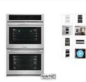 Frigidaire Fget3065pf 30 Electric Double Wall Oven With Quick Preheat Effortle