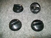 Wp98006100 Whirlpool Kenmore Range Oven Control Knobs Set Of 4
