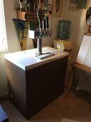 Kegerator With 4 Taps Chest Freezer Conversion With Tap Handles An Kegs