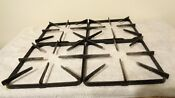 Lot Of 4 Kenmore Gas Stove Range Square Burner Grates Replacement Parts