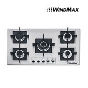 Brand 35 5 Stainless Steel 5 Burners Stove Gas Hob Cooktop Household Cooker