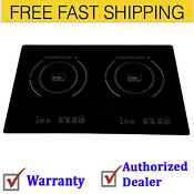 True Induction Ti 2b Counter Inset Double Burner Induction Cooktop 120v B
