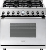 Superiore Next 36 Classic Stainless Steel Dual Fuel