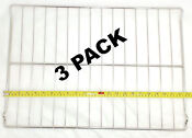 3 Pk Oven Rack For General Electric Hotpoint Ap2031328 Ps249755 Wb48x5099