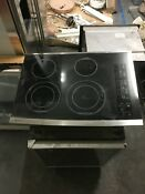 Ge Monogram Electric Range Model Zet1038sf3ss