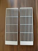 Jenn Air Downdraft Grill Vent Covers Set Of 2 White Used Excellent Condition