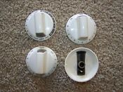 316352802 Frigidaire Kenmore Range Oven Control Knobs Set Of 4 Bisque