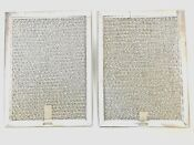 Frigidaire Professional Microwave Genuine 2 Grease Filters Series169