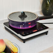 Costway Electric Induction Cooker Single Burner Digital Hot Plate Cooktop Counte