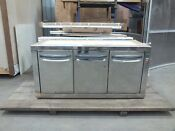 Counter Fridge Freezer S Steel