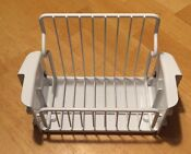Ge Profile Side By Side Refrigerator Freezer Shelf Wire Bin Pull Out Plastic