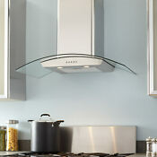 36 Caselle Series Stainless Steel Wall Mount Range Hood 860 Cfm