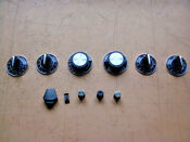 Jenn Air S120 Control Panel Knobs No Convect