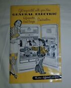1950 S Vintage Ge General Electric Refrigerator Owners Manual 76 Recipes Nice