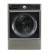 Kenmore Elite 41983 5 2 Cu Ft Smart Front Load Washer With Accela Wash Silver