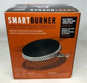 Smartburner 2 X 2 Cooking Fire Solution For Electric Coil Stoves Black Vg