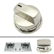 Gas Stove Stainless Steel Boil Burner Knob Fits Lg Ranges Cooktops Ebz37189611