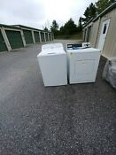 Electric Washer And Dryer Set Used In Excellent Condition