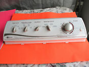 Maytag Washer Control Panel With All Switches Timer Included Part 21001965