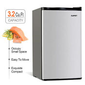 3 2 Cu Ft Compact Refrigerator Mini Fridge Freezer Freestanding Black