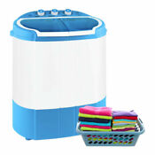Pyle Compact Portable Washer Dryer With Mini Washing Machine And Spin Dryer