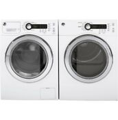 Brand New Matching Ge Stackable Washer And Dryer Set Wcvh4800kww