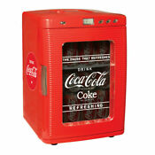 Coca Cola Mini Fridge Display Window Great For Office Dorm Or Count New No Box