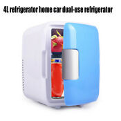 Car Refrigerator 4l Portable Mini Electric Cooler Warmer 4 Liter 7 Can